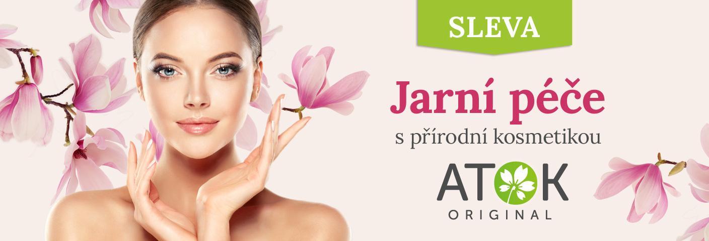 Jarní péče s přírodní kosmetikou Original ATOK