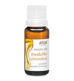Éterické oleje - Éterický olej Meduňka citronelová - A6045B - 10 ml