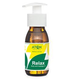 Masážní preparáty - Tělový a masážní olej Relax - B2112D - 50 ml