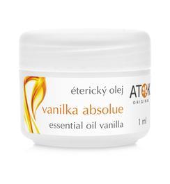 Vzácné éterické oleje - Éterický olej Vanilka absolue - A6088M - 1 ml