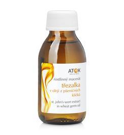 Rostlinné oleje a maceráty - Rostlinný macerát třezalka v oleji z pšeničných klíčků - A1025E - 100 ml