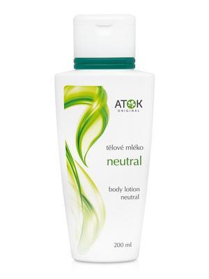 Tělová mléka - Tělové mléko Neutral - B1115G - 200 ml