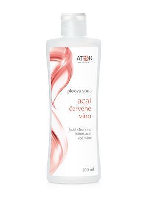 Pleťové vody - Pleťová voda Acai - červené víno - B1193G - 200 ml