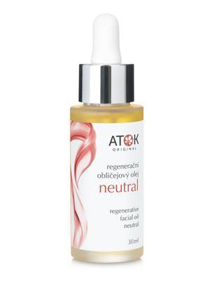 Oleje a oleogely - Regenerační obličejový olej Neutral - B1091Z - 30 ml