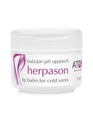 Dentální péče - Balzám při oparech Herpason - B1080A - 5 ml