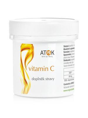 Potravinové doplňky - Vitamin C v prášku - A2017S - 120 g