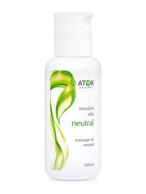 Masážní preparáty - Masážní olej Neutral - B1026E - 100 ml