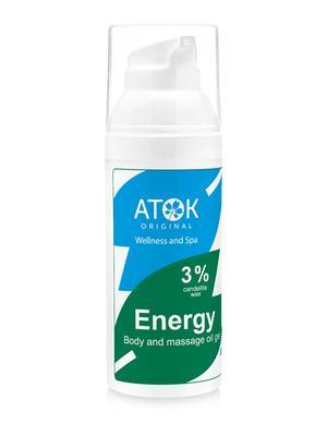 Masážní preparáty - Tělový a masážní oleogel Energy - B2119D - 50 ml