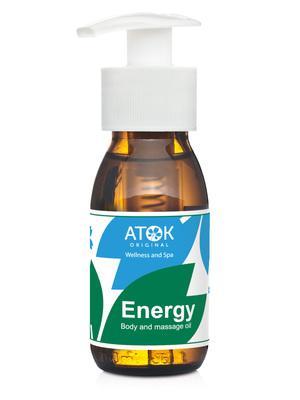 Masážní preparáty - Tělový a masážní olej Energy - B2118D - 50 ml