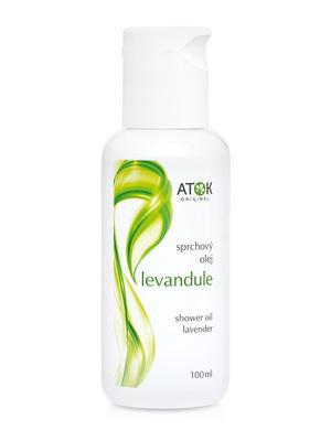 Sprchové oleje - Sprchový olej Levandule - B1135E - 100 ml