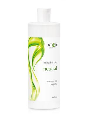 Masážní preparáty - Masážní olej Neutral - B1026I - 500 ml