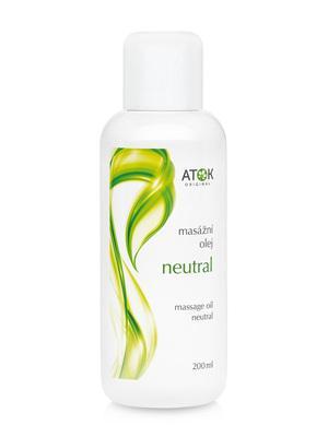 Masážní preparáty - Masážní olej Neutral - B1026G - 200 ml