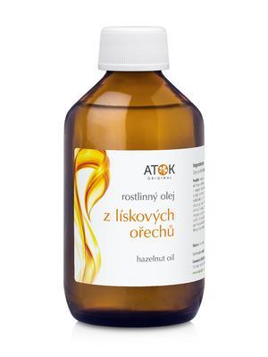 Rostlinné oleje a maceráty - Rostlinný olej z lískových ořechů - A1031H - 250 ml