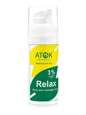 Masážní preparáty - Tělový a masážní oleogel Relax - B2113D - 50 ml