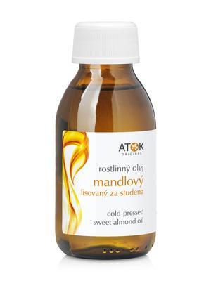 Rostlinné oleje a maceráty - Rostlinný olej mandlový, lisovaný za studena - A1032E - 100 ml