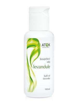 Koupelové oleje - Koupelový olej Levandule - B1002E - 100 ml