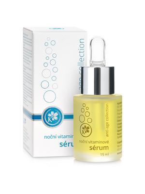Anti-age collection - Noční vitaminové sérum - B2137T - 15 ml