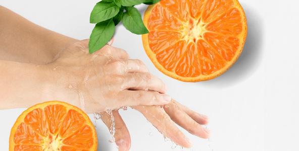 Čisté ruce silou přírody