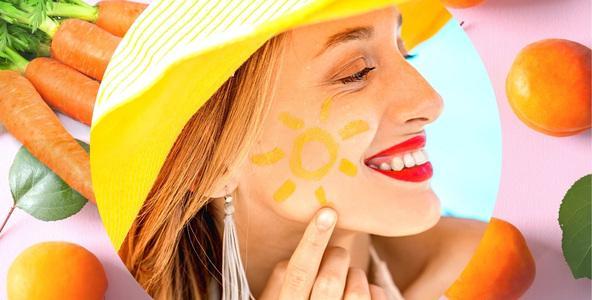 KAROTENOIDY ~ slunce pokožky